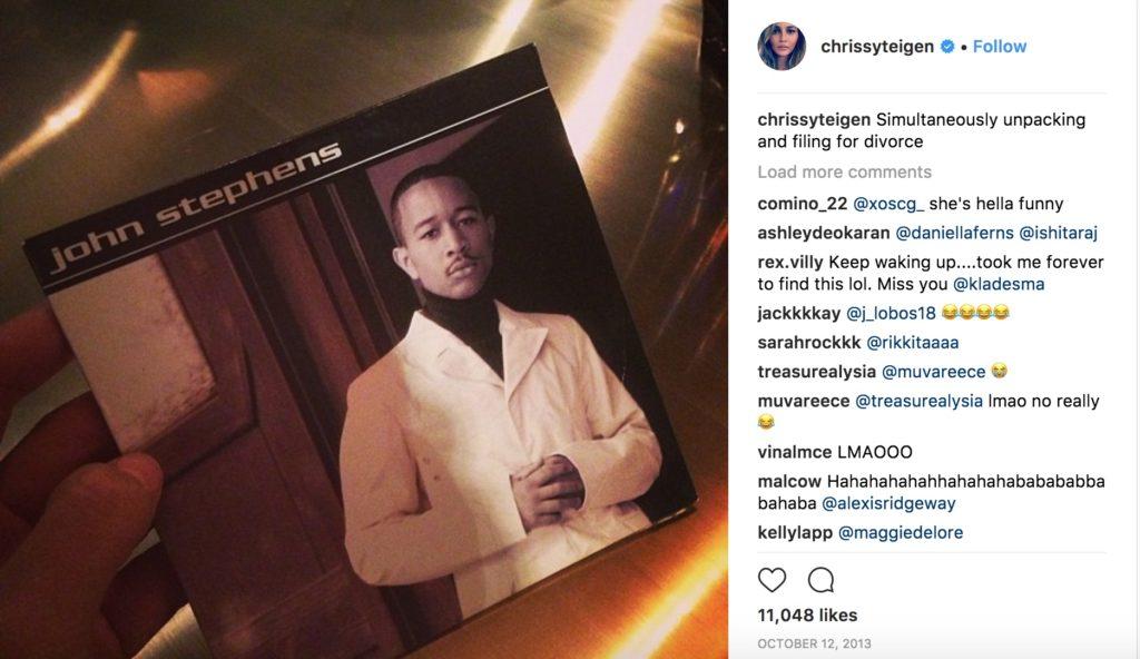 Chrissy Teigen funniest celebrity photos