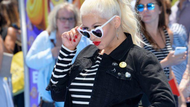 Christina Aguilera celebrity rider