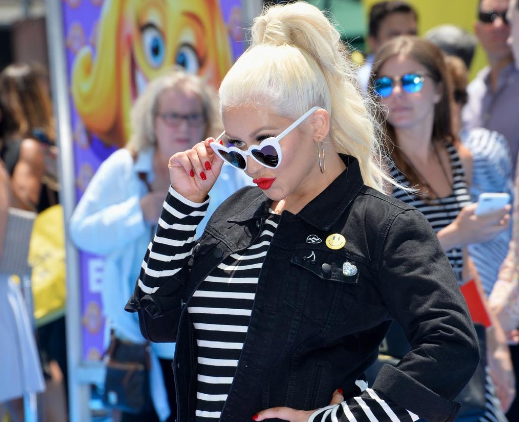 Christina Aguilera positive affirmations