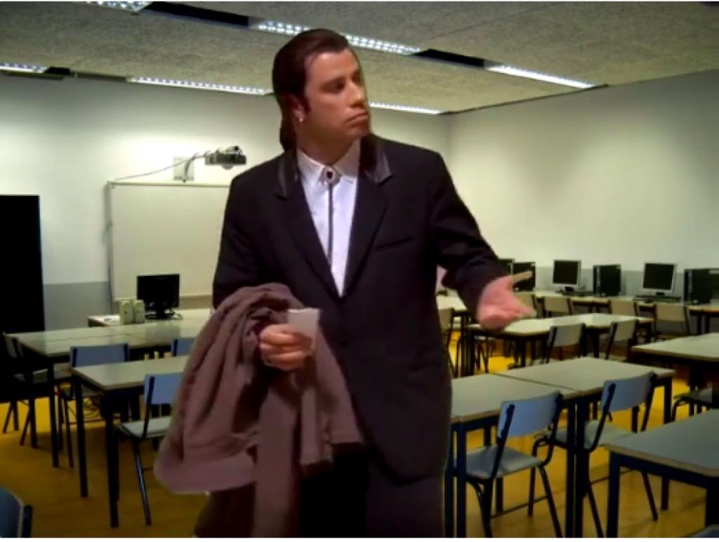 Confused John Travolta Meme