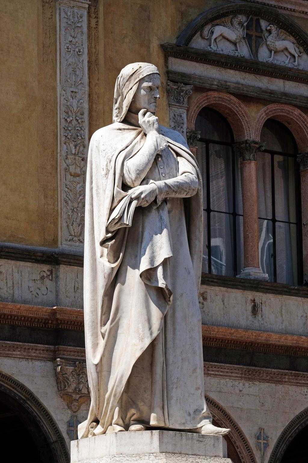 Dante Statue Italians