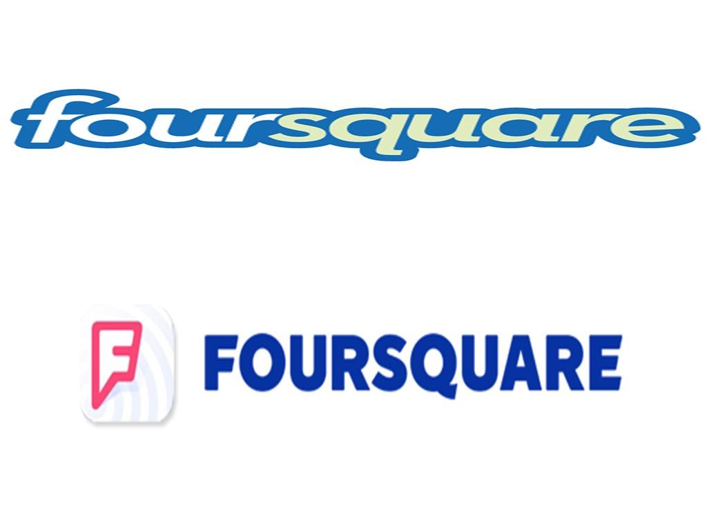 Foursquare worst logo redesign