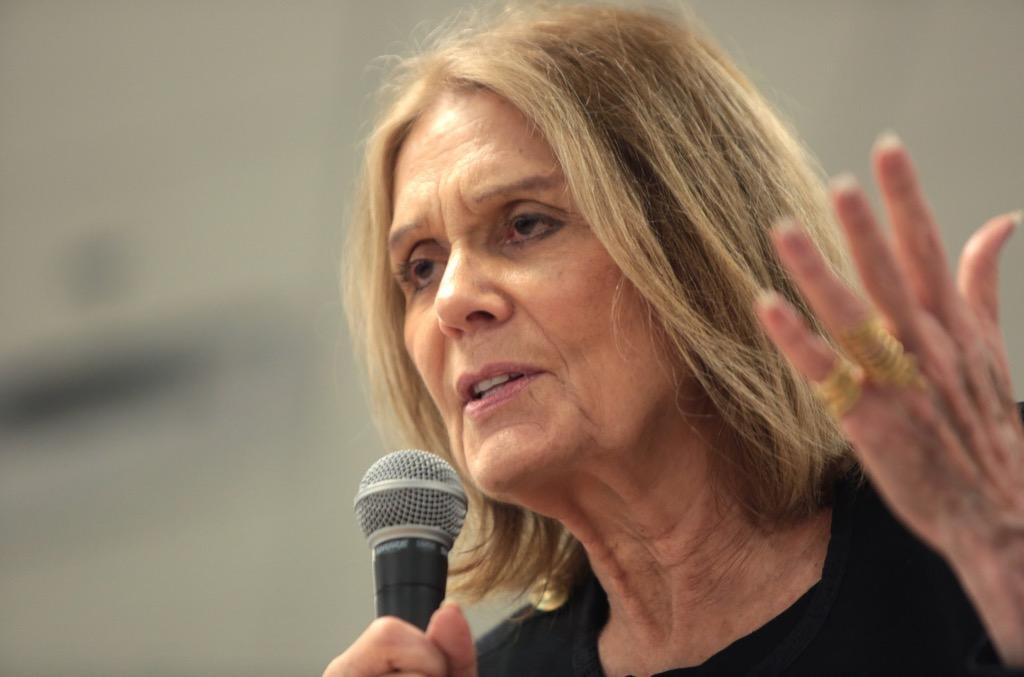 Gloria Steinem best women's one-liners