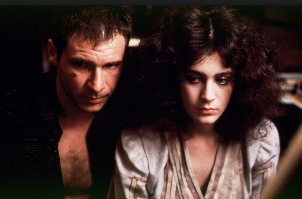 Harrison Ford Sean Young Blade Runner On-Screen Couples Who Hate Each Other