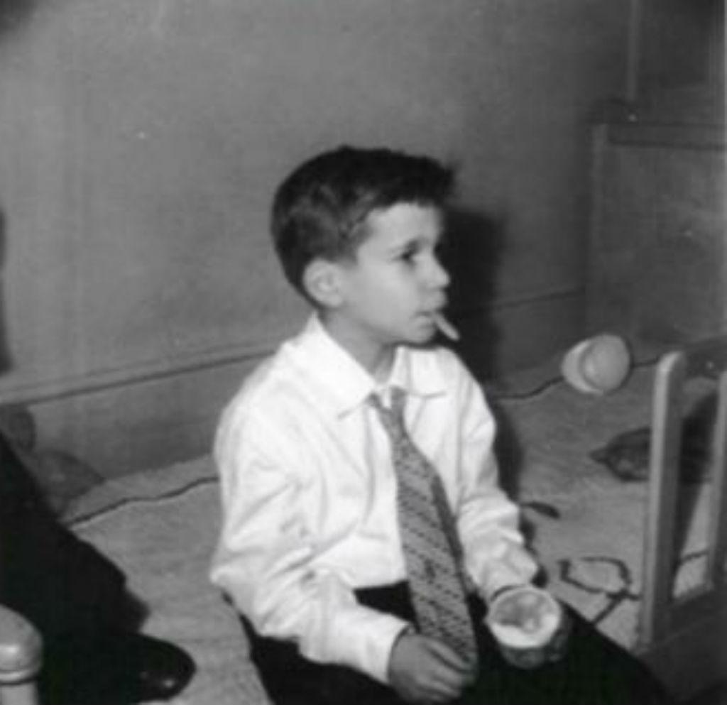 Henry Winkler as a child.