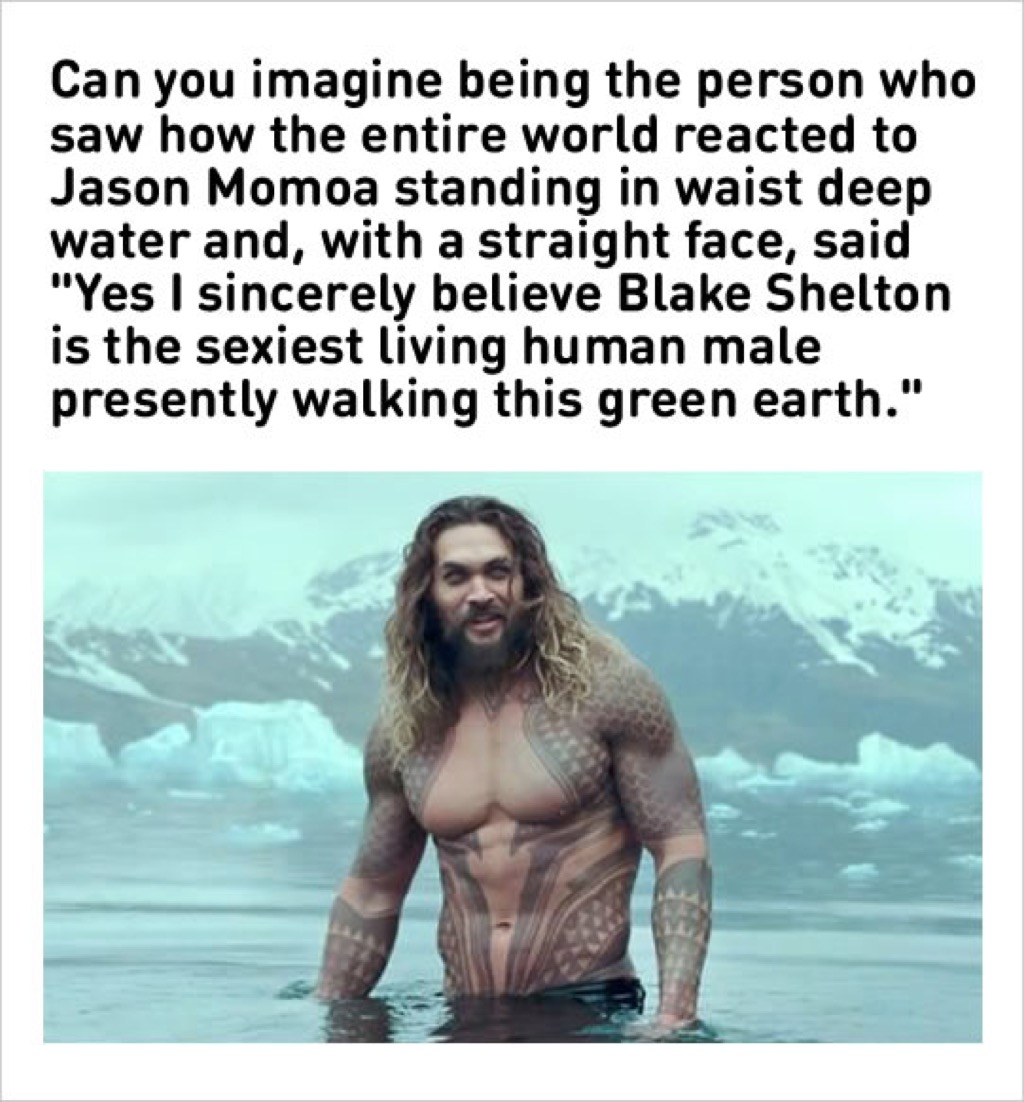 Jason Momoa sexiest man alive meme