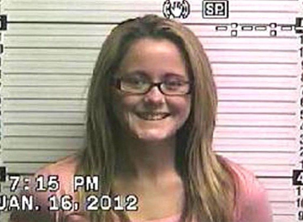 Jenelle Evans funny celebrity mugshots