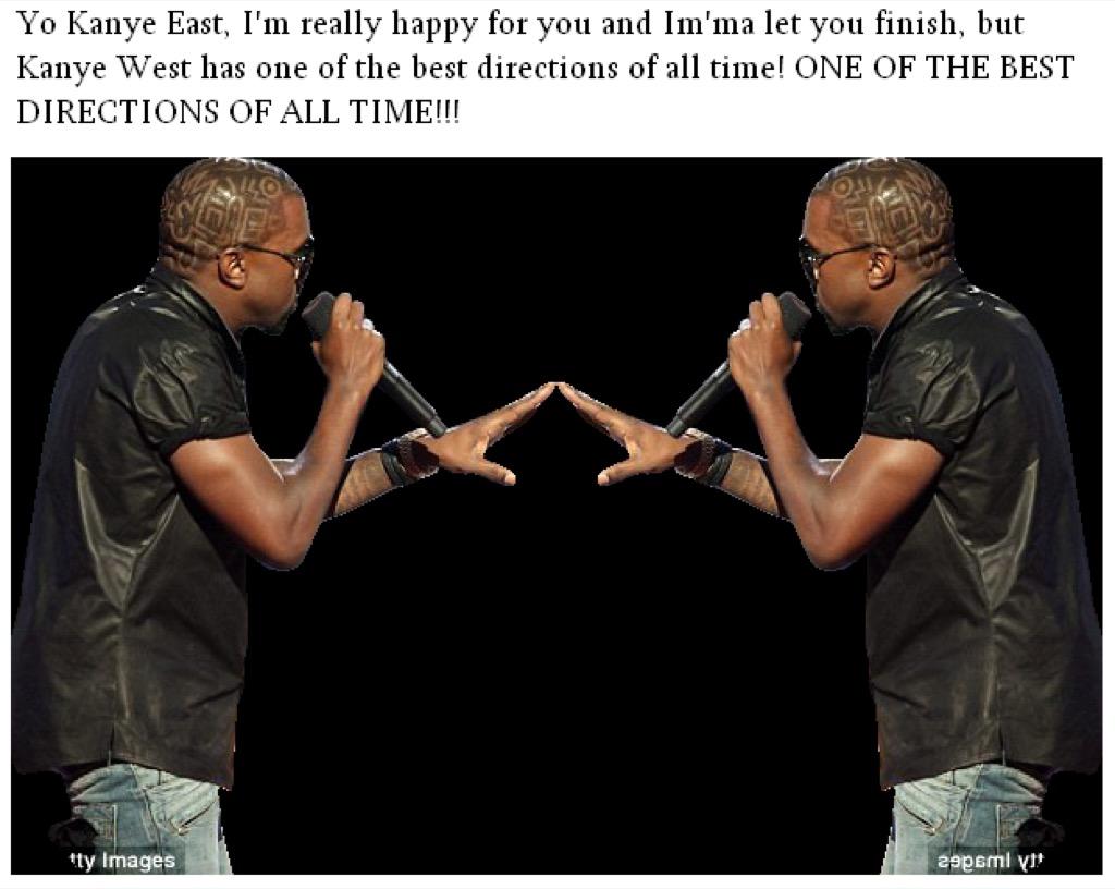 Kanye East meme