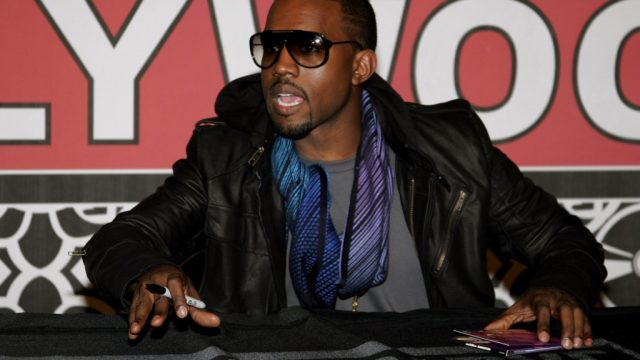 Kanye West celebrity rider