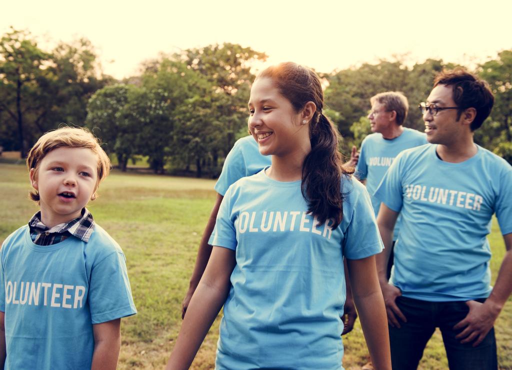 Kids Volunteering Parenting