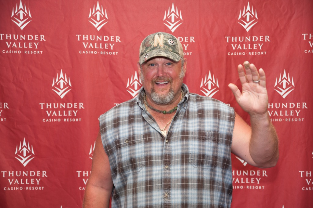 Larry the Cable Guy celebrity rider