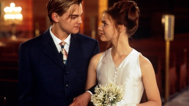 Leonardo Dicaprio Claire Danes Romeo and Juliet On Screen Couples Who Hate Each Other