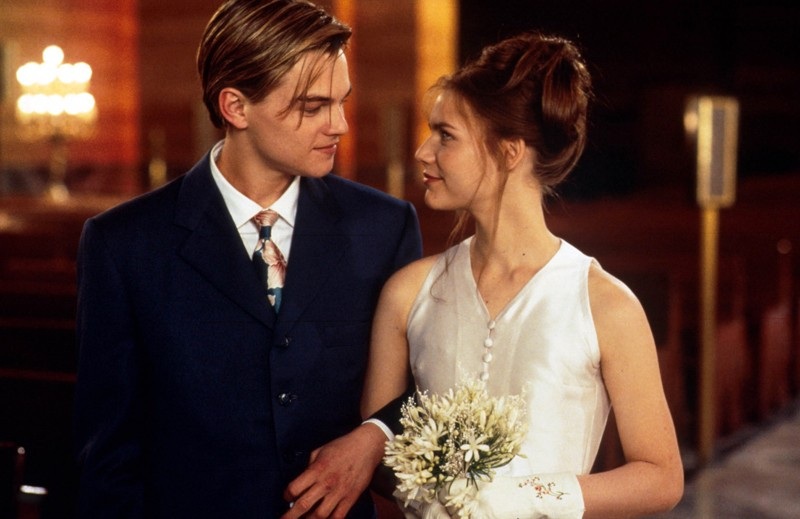 Leonardo Dicaprio Claire Danes Romeo and Juliet On-Screen Couples Who Hate Each Other