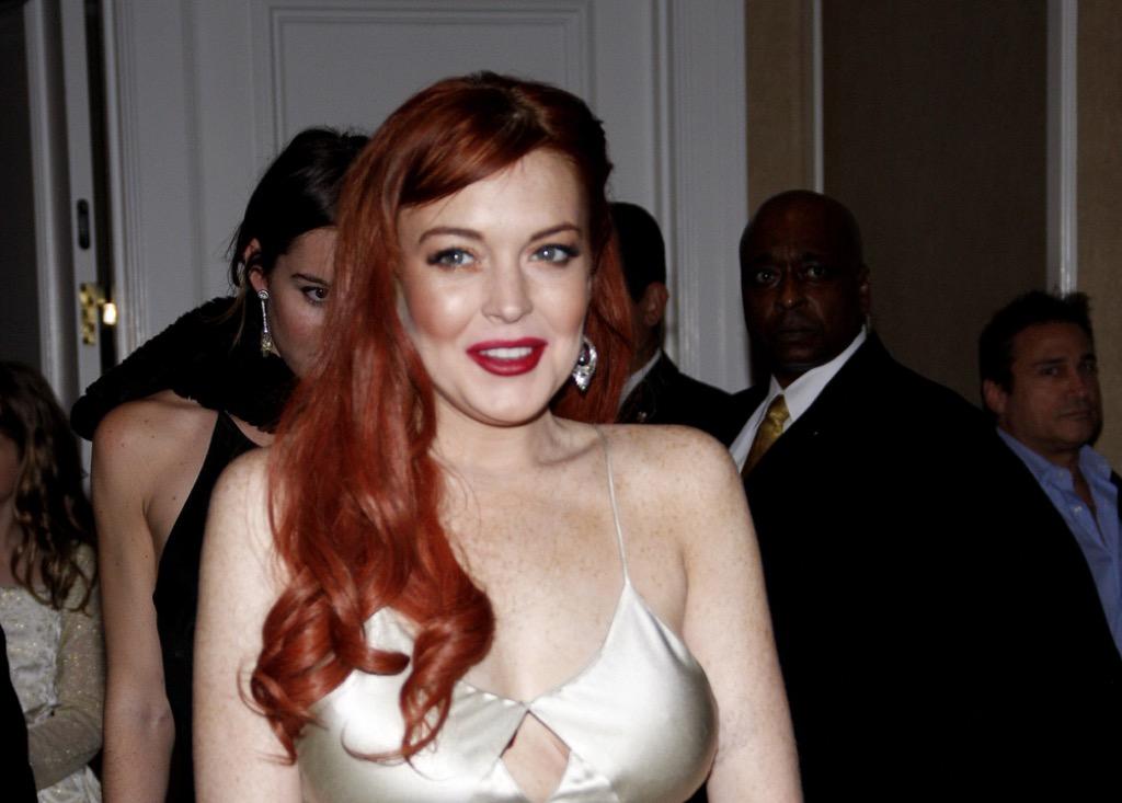 Lindsay Lohan celebrity rider {best of 2018}