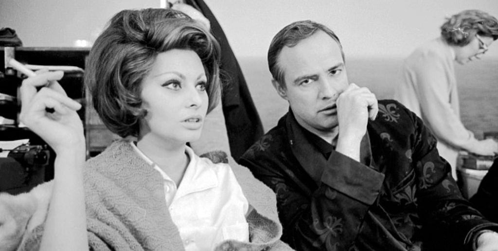 Marlon Brando Sophia Loren A Countess From Hong Kong On-Screen Couples Who Hate Each Other