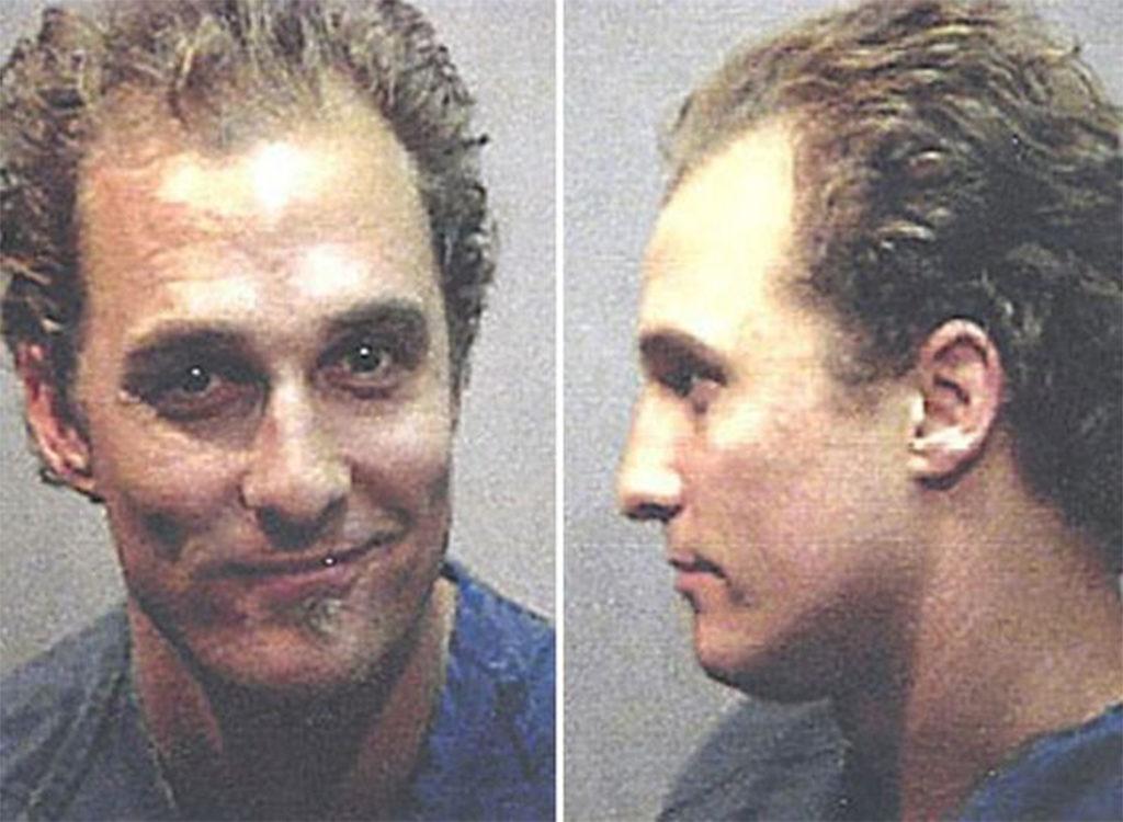 Matthew McConaughey Matthew McConaughey funny celebrity mugshots