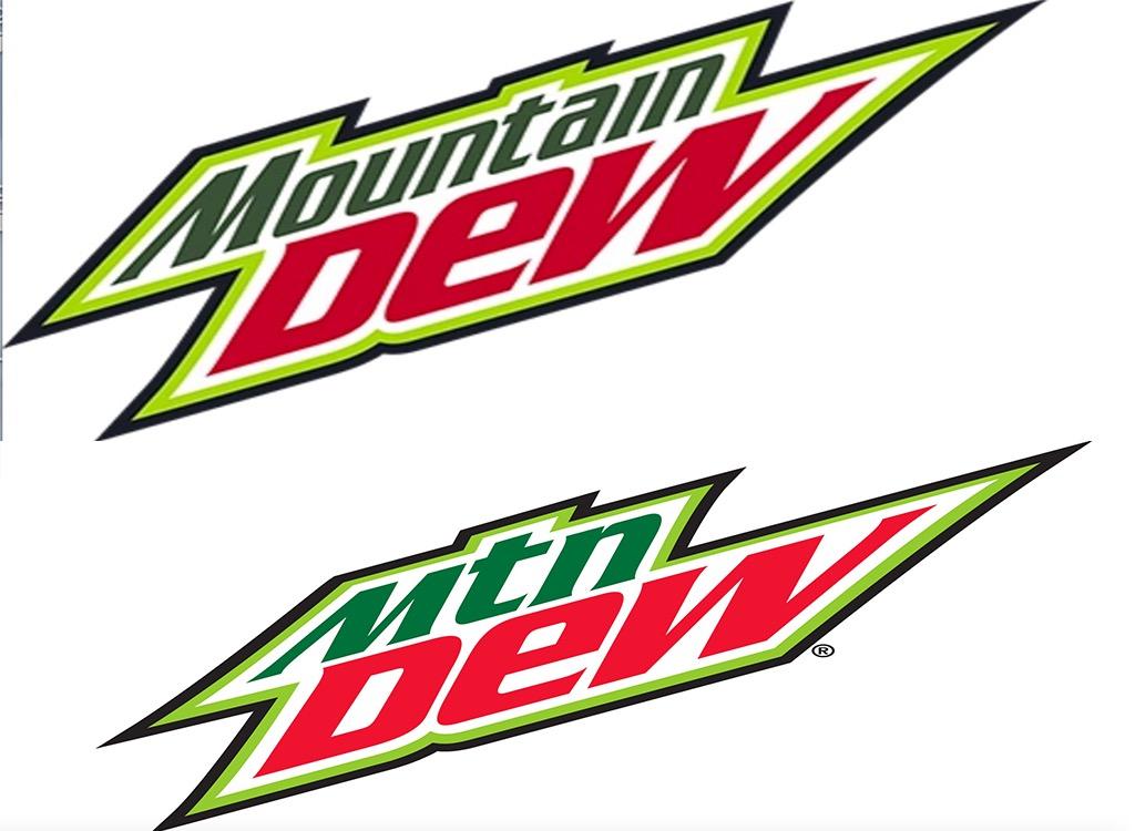 Mountain Dew worst logo redesign