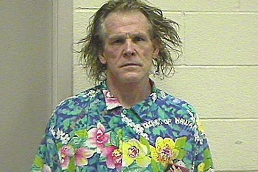 Nick Nolte funny celebrity mugshots