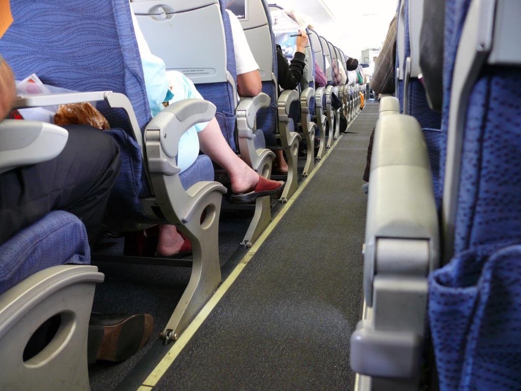 Airplane armrest crazy plane behavior