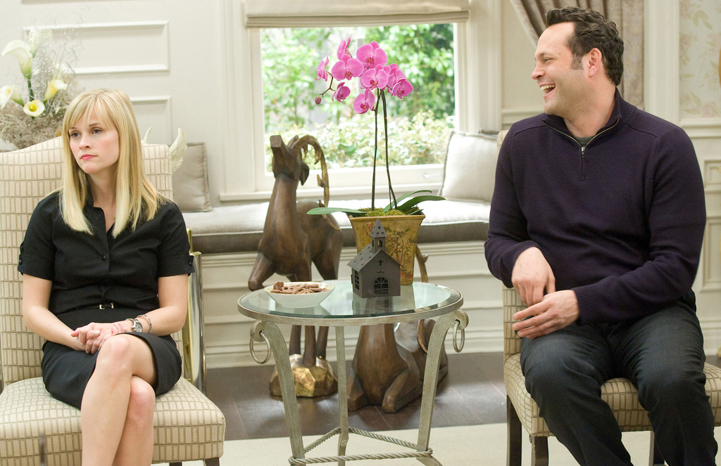 Reese Witherspoon Vince Vaughn Four Christmases On-Screen Couples Who Hate Each Other