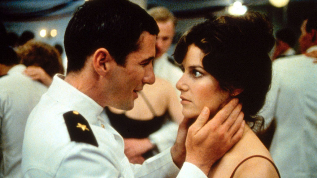 Richard Gere Debra Winger An Officer and a Gentleman On-Screen Couples Who Hate Each Other
