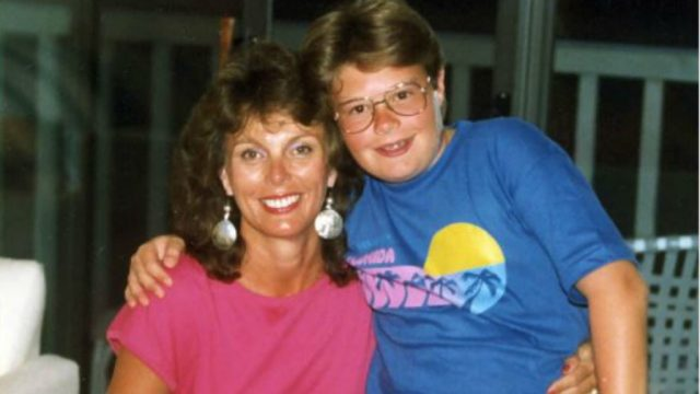Ryan Seacrest with his Mom.