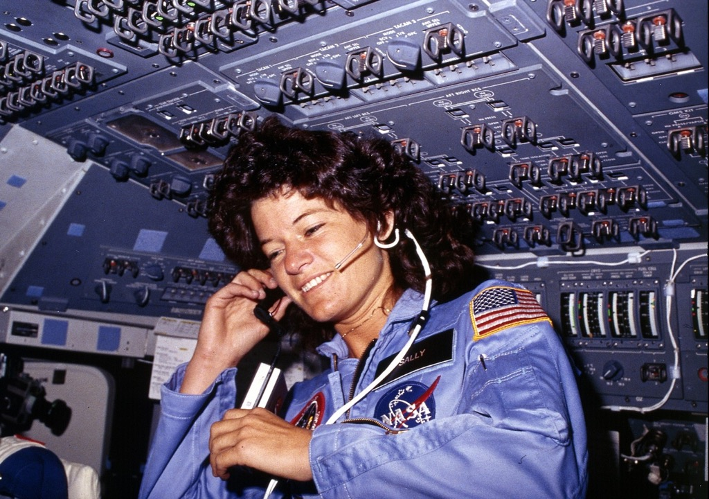 Sally Ride best one liners