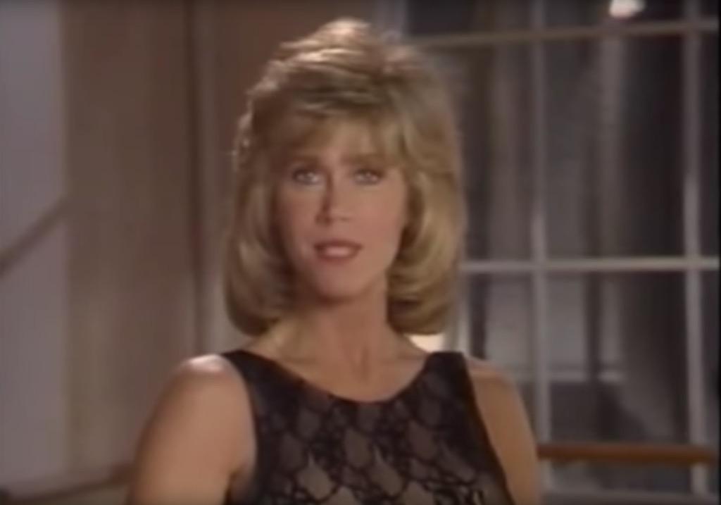 Jane Fonda Workout 90s workout videos