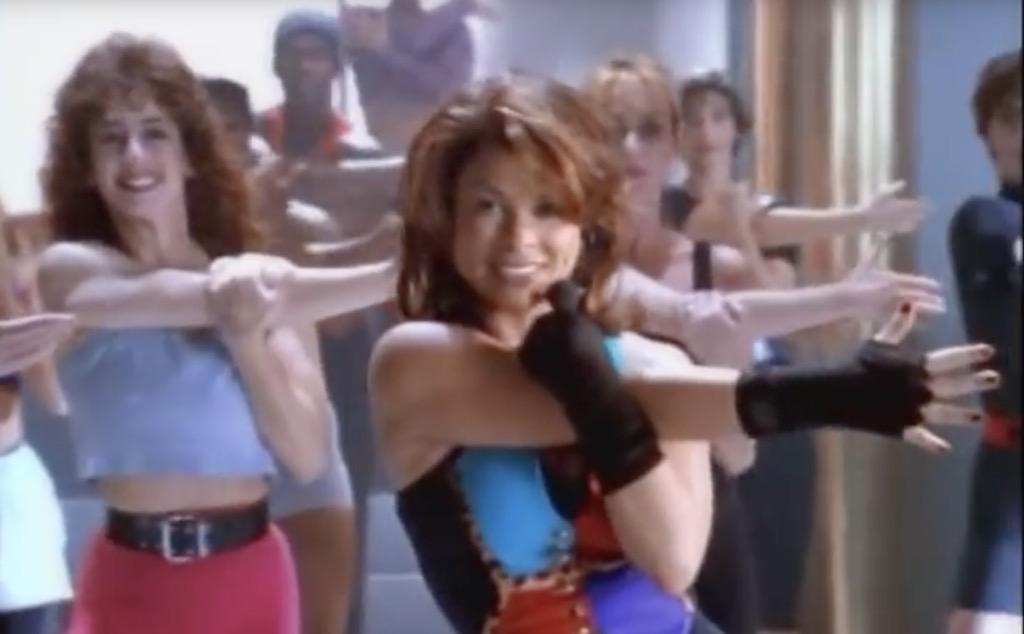 paula abdul 90s workout videos