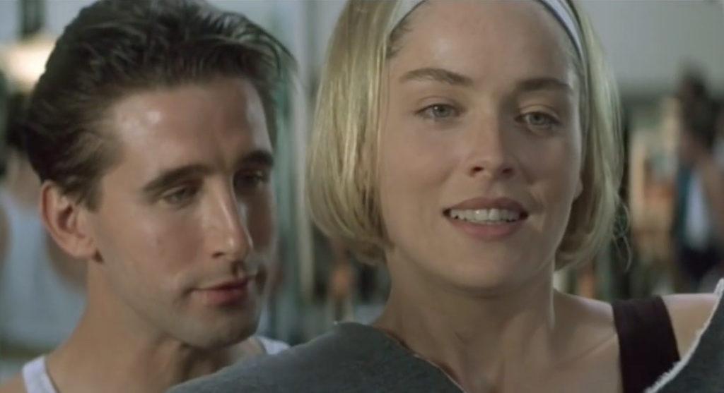 Sharon Stone Billy Baldwin Sliver On-Screen Couples Who Hate Each Other