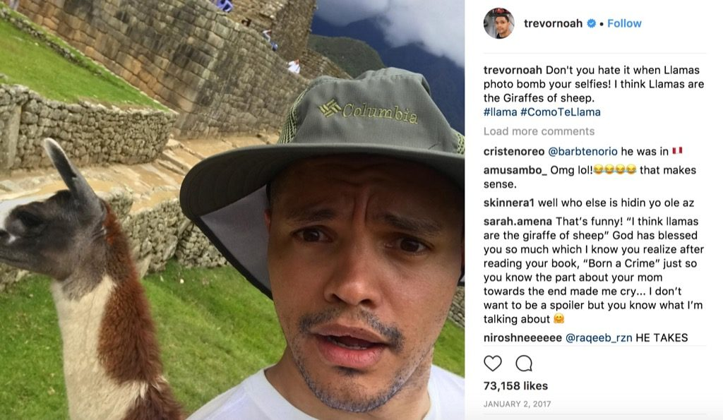 Trevor Noah funniest celebrity photos