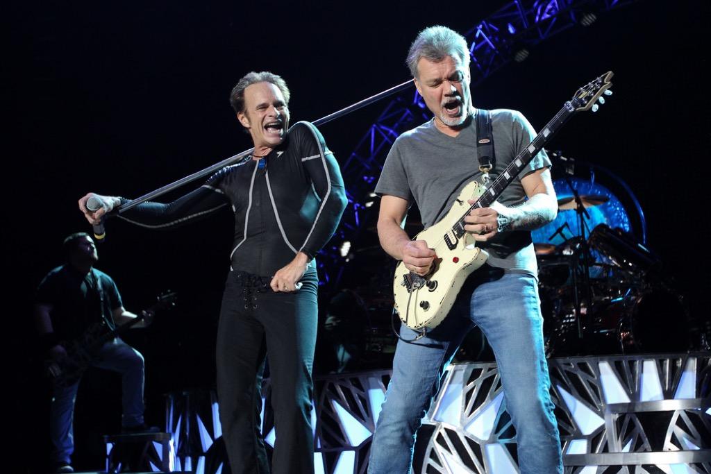 Van Halen celebrity riders