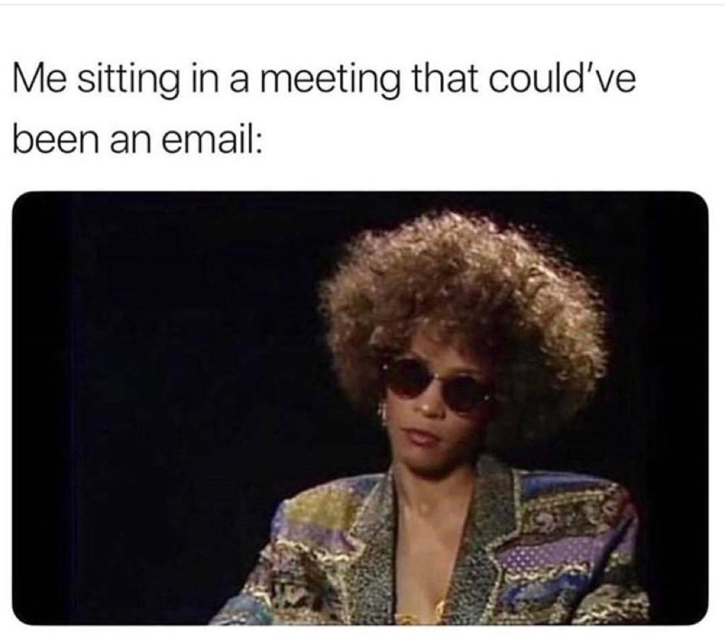 Whitney Houston meme