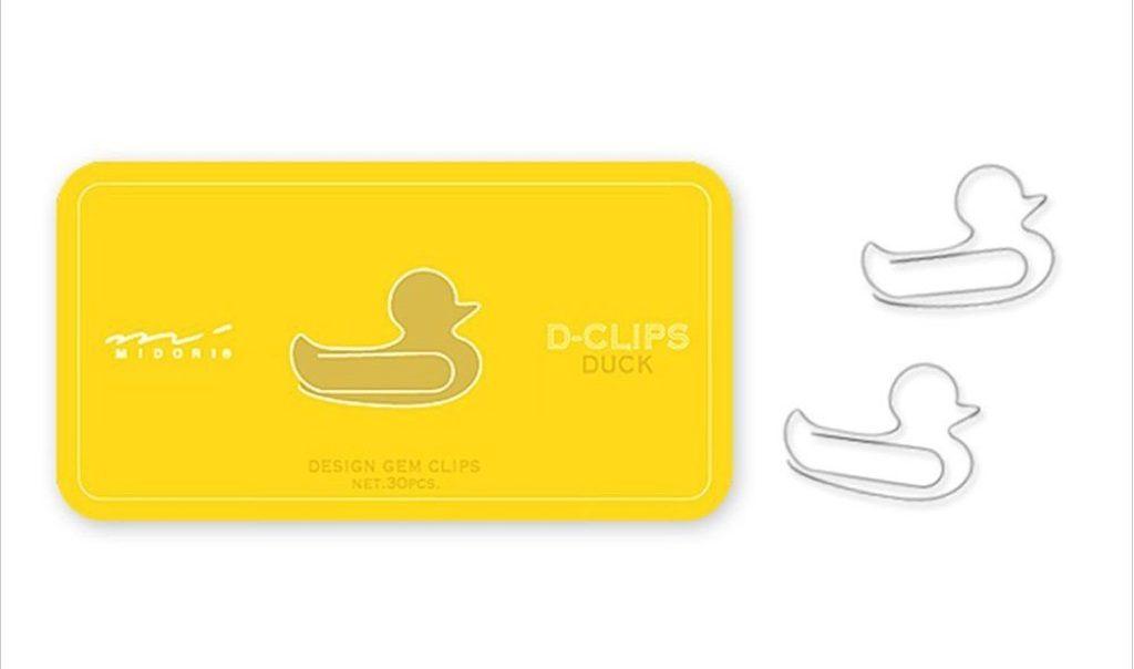 duck paper clips