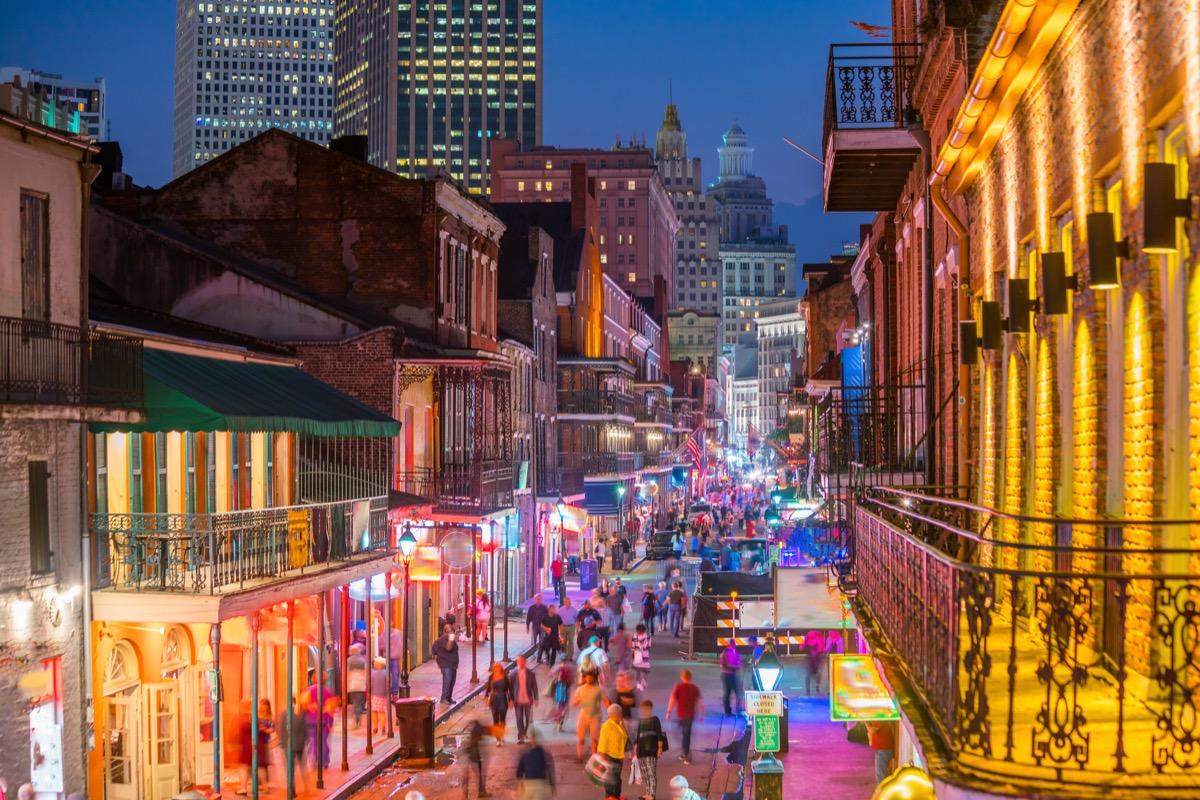 Bourbon Street New Orleans, Louisiana