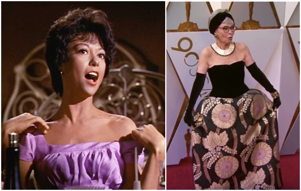 Rita Moreno in West Side Story and 90th Oscars