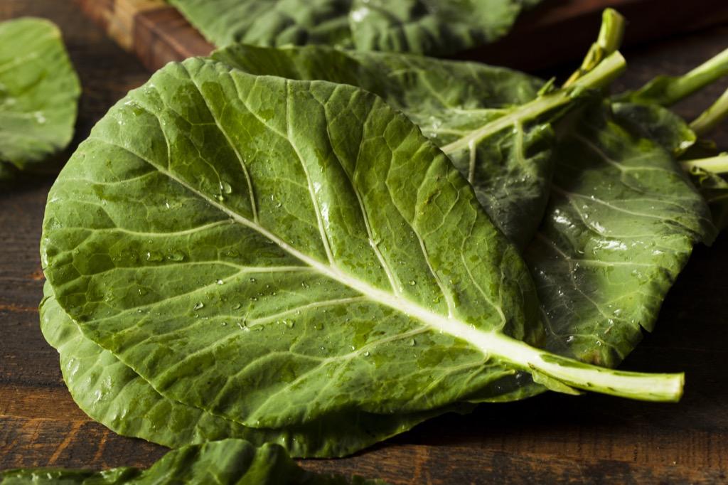 collard green Foods rid allergies