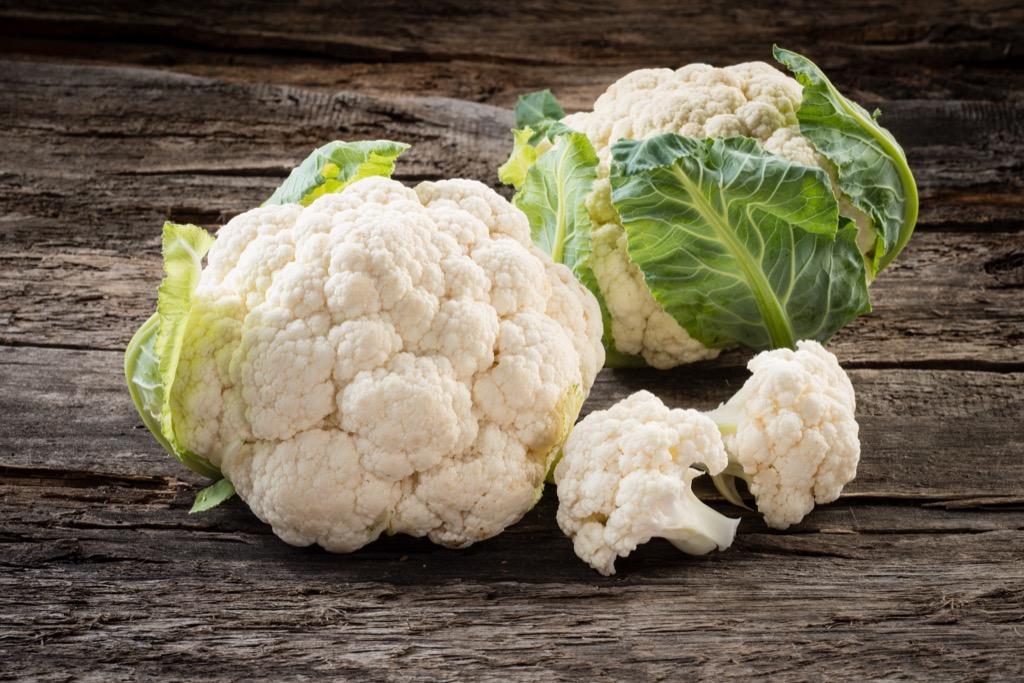 Cauliflower Foods rid allergies