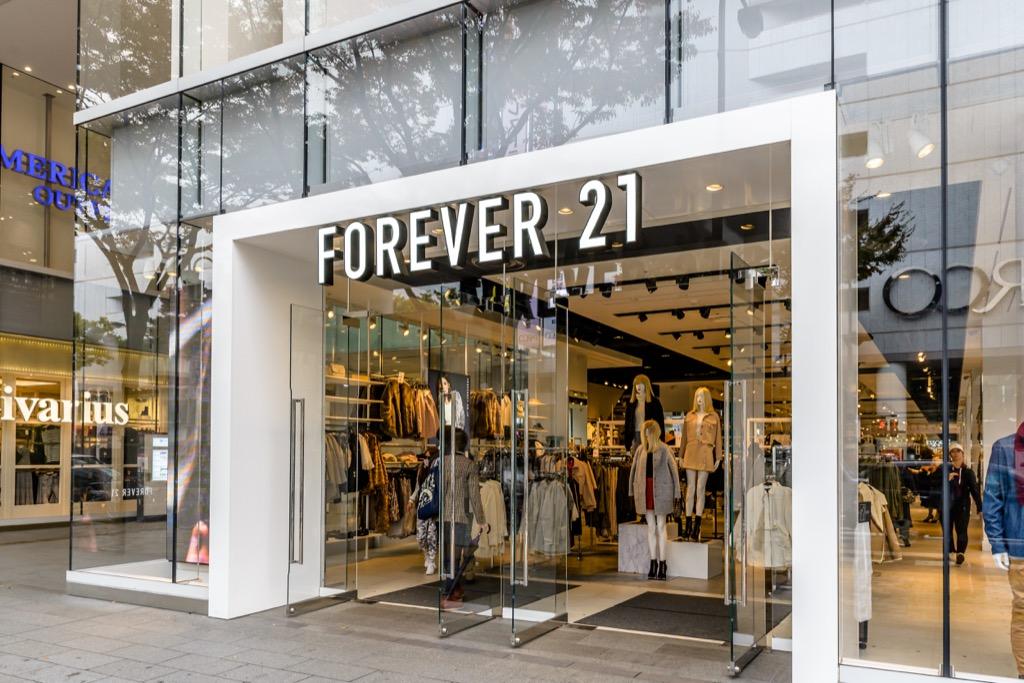 Forever 21 Never Buy