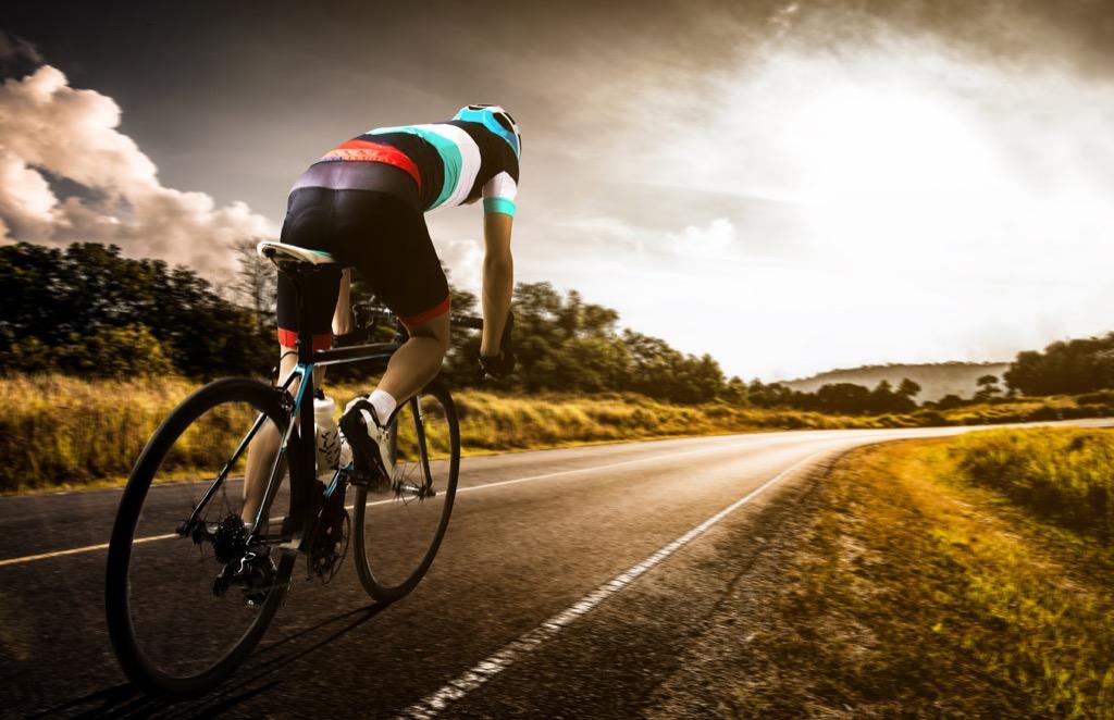 man biking Life Easier