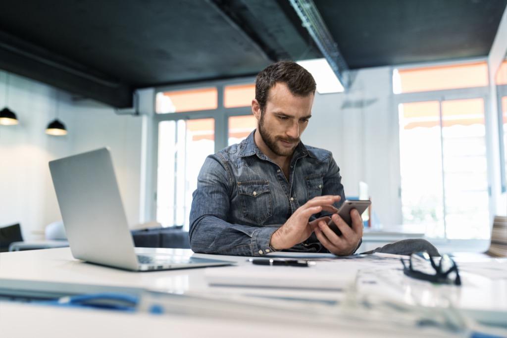 men checking passwords Life Easier
