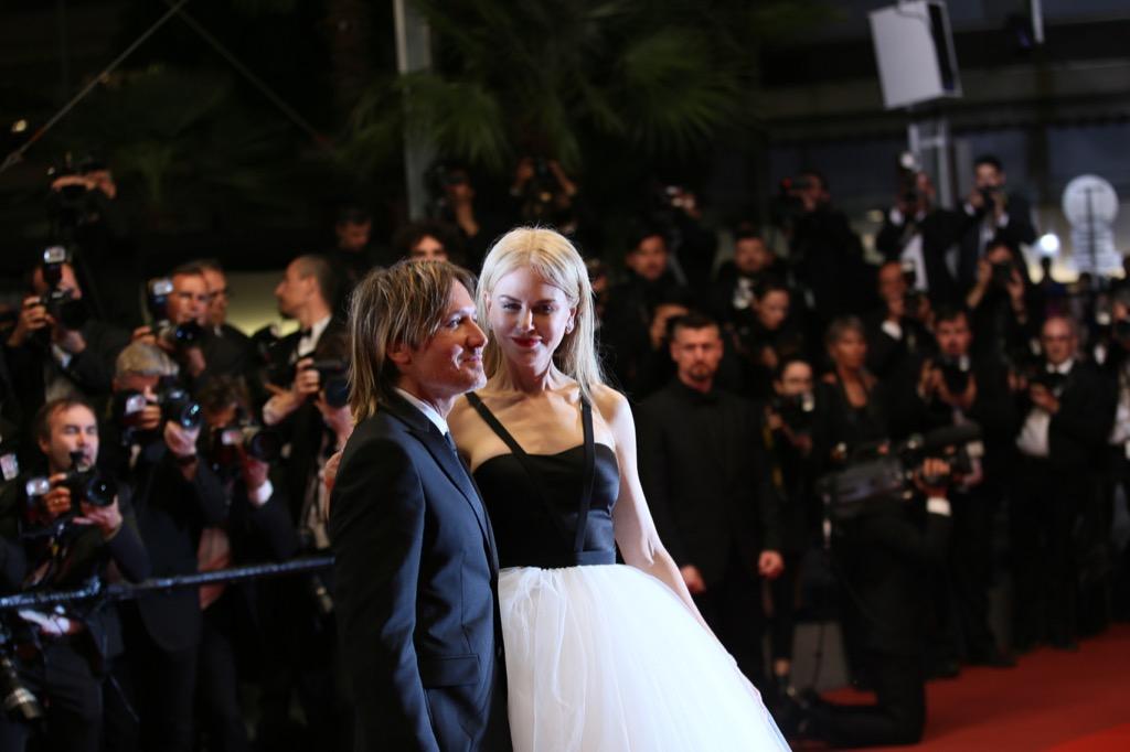 Keith Urban and Nicole Kidman, tall celebrities