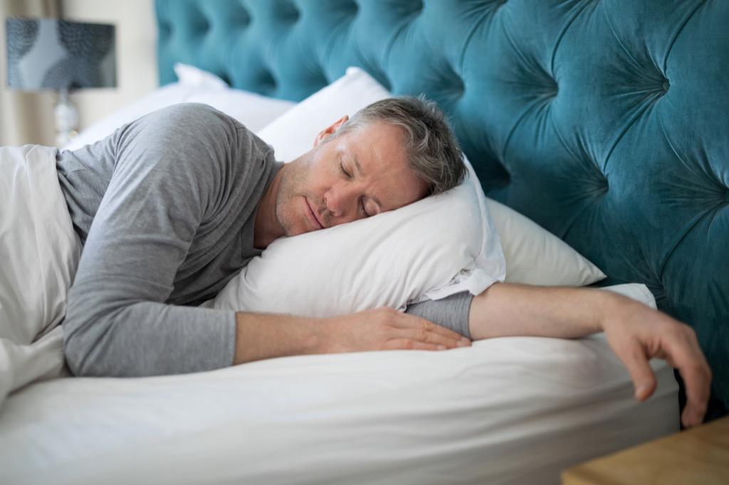 man napping perfect nap