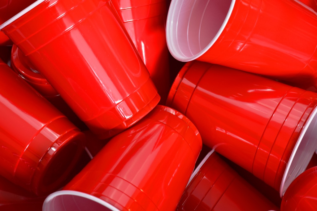 red solo cup Never Buy