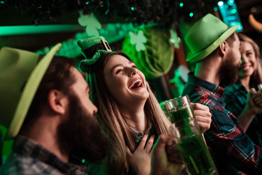 st patricks day party spring