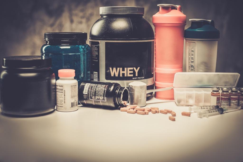 supplements protein whey powder