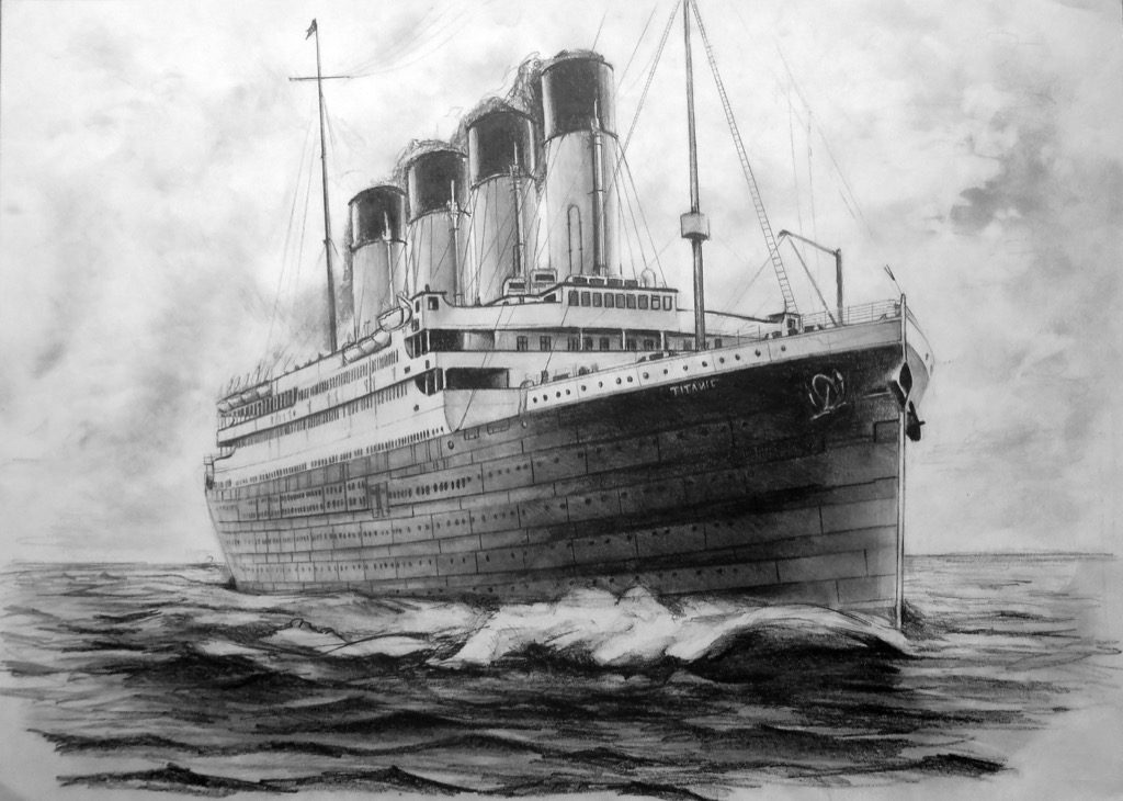 titanic sketch