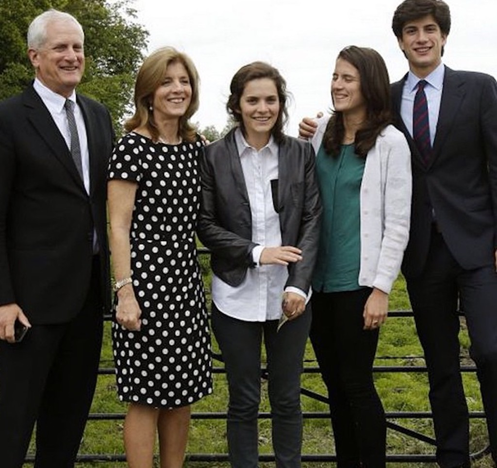 Jack, Rose and Tatiana Schlossberg Celebrity Siblings