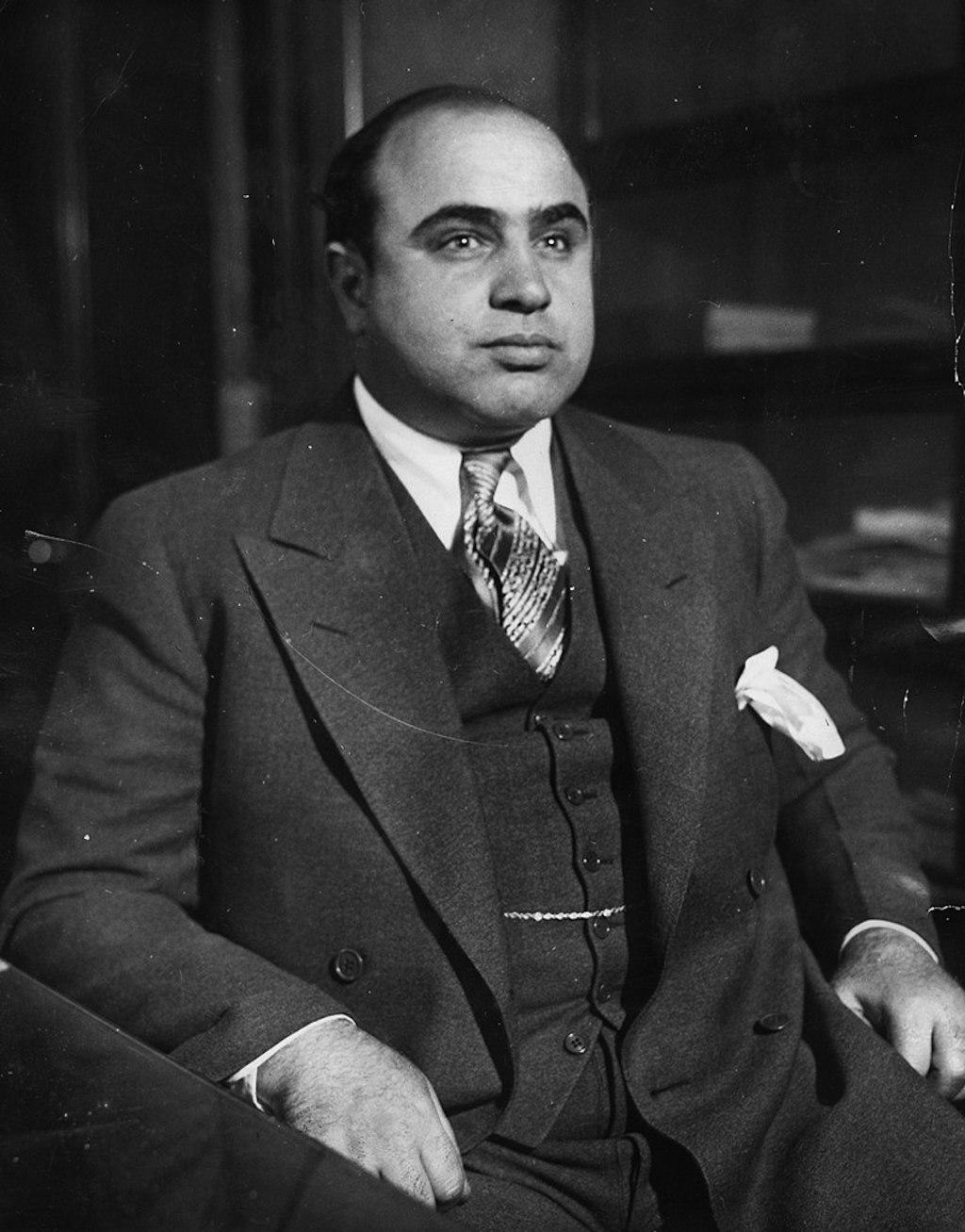 al capone in 1930