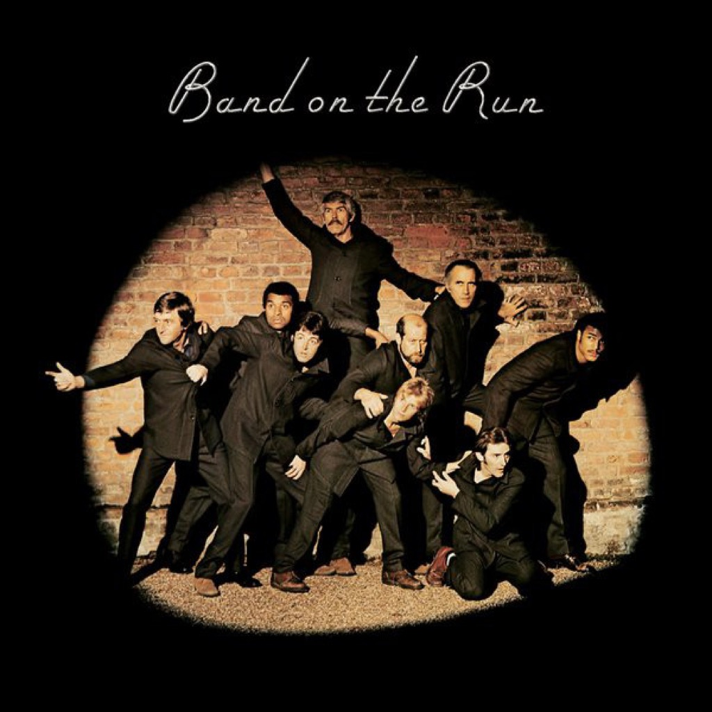 """Wings """"Band on the Run"""" album cover"""